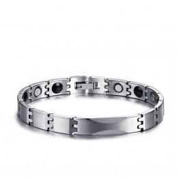 Simple fashion trend of color steel bracelet 8MM tungsten bracelet for men WBRM-005